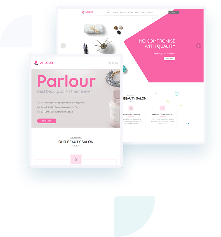 Template Landing Page Spa