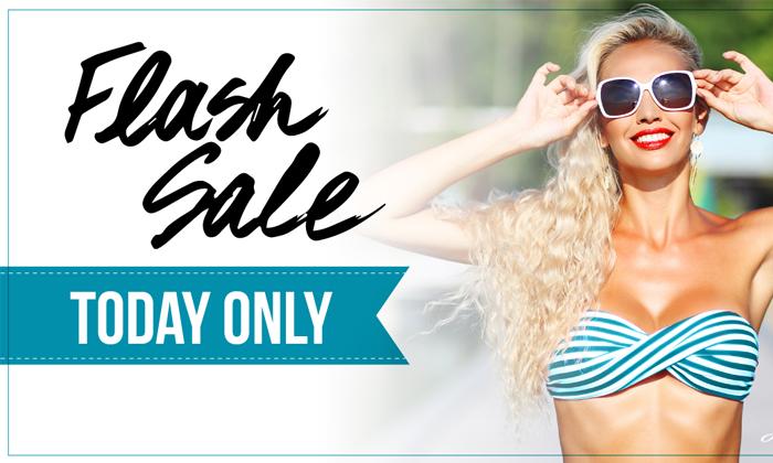 Áp dụng Flash Sale cho thời điểm spa vắng khách